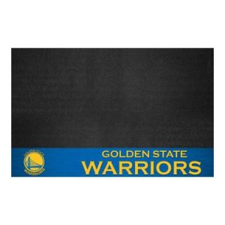 FANMATS Golden State Warriors 26 in. x 42 in. Grill Mat 14204