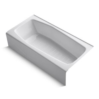 Kohler Villager Alcove 60 x 30 Soaking Bathtub