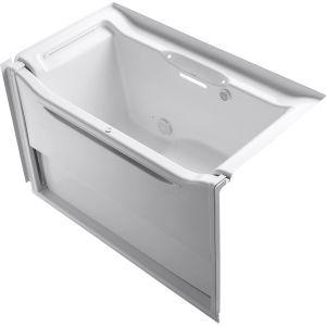 Kohler K 1914 GL 0 Elevance White  Air Tubs Tubs & Whirlpools