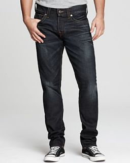 True Religion Jeans   Davey Slim Straight Fit in Iron Horse