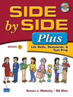 Side by Side Plus: Life Skills, Standards, & Test Prep Book 2