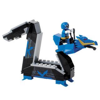 Mega Brands Power Rangers Samurai   Blue Dragon Folding Zord