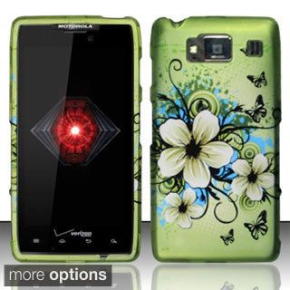 INSTEN Rubberized Pattern Dust Proof Hard Plastic Phone Case Cover for