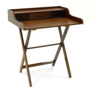 Carolina Cottage Folding Easton Desk in Chestnut 2975FD NC