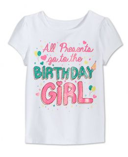 Epic Threads Little Girls Birthday Girl T Shirt, Only at