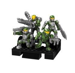 Mega Bloks Halo UNSC Green Combat Unit Toy Set   13673425