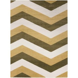 apartment AH Artesia Machine Made Geometric Area Rug, Green