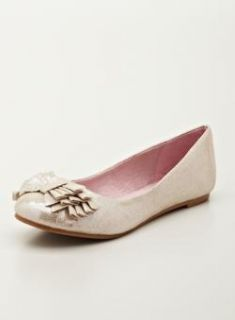 Chinese Laundry Cl Ballet Flat With Scrunch Bow Detail   14790635
