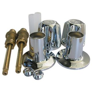LASCO Price Pfister, Two Valve, Verve, Tub & Shower, Trim Set, With Stems: Model# 01 9171