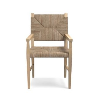 Rutherford Woven Rush Dining Armchair