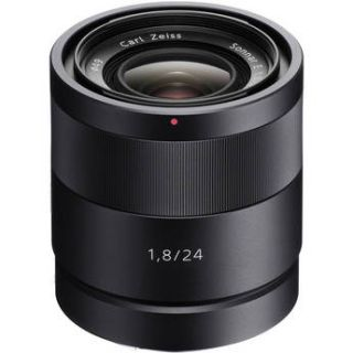 Used Sony 24mm f/1.8 ZA E Mount Carl Zeiss Sonnar Lens SEL24F18Z