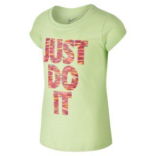 Nike Just Do It Spinner Preschool Girls T Shirt.