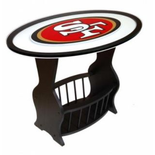 Adventure Furniture N0537 SFF Seattle Seahawks Logo End Table