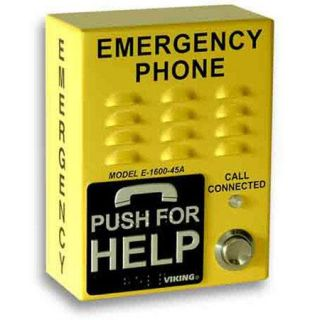 Viking E 1600 45A EWP ADA Compliant Handsfree Emergency Phone E 1600 45A EWP