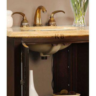 Silkroad Exclusive Evelyn 27 Single Sink Bathroom Vanity Set