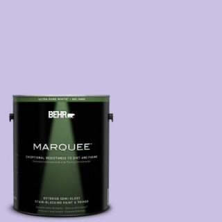 BEHR MARQUEE 1 gal. #P560 3 Party Hat Semi Gloss Enamel Exterior Paint 545001
