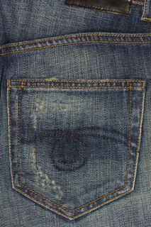 Distressed mid rise slim boyfriend jeans  R13