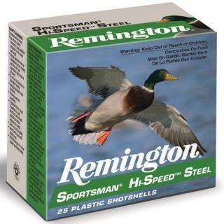 Remington Sportsman Hi Speed Steel Shotshells 12 ga. 3 1 1/8 oz. #2