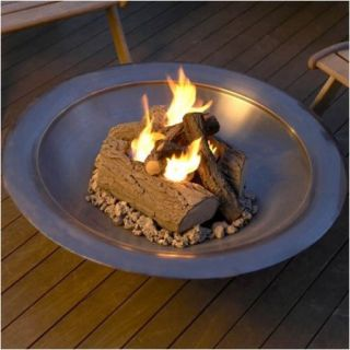 Real Flame Steel Outdoor Log Set