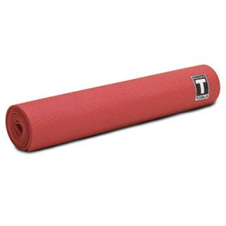 Body Solid Tools 5mm Yoga Mat   Red