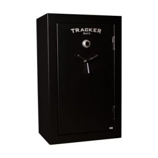 Tracker Safe 34 Gun Fire Resistant Combination/Dial Lock, Black Powder Coat M32 DLG