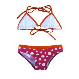 Azul Swimwear Girls Dippin Dots 2 piece Bikini Set   16626768