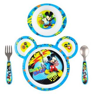The First Years Disney Mickey Mouse Feeding Set (4 piece)