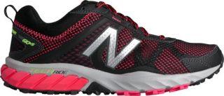 Womens New Balance WT610v5 Trail Running Shoe   Black/Pink Zing