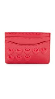 Marc Jacobs Embossed Hearts Card Case