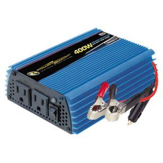 Power Bright 12V DC to 110V AC 400W Power Inverter
