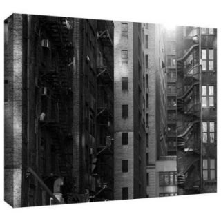 ArtWall 'Buildings' by John Black Photographic Print on Wrapped Canvas