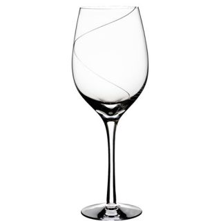 Line Red Wine Glass by Kosta Boda