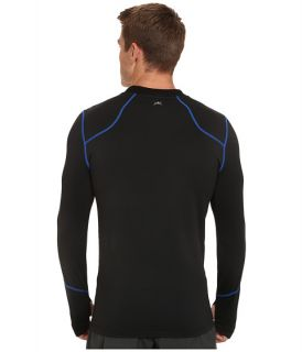 Terramar Txo 2 0 Long Sleeve Crew Carbon Imperial Stitching