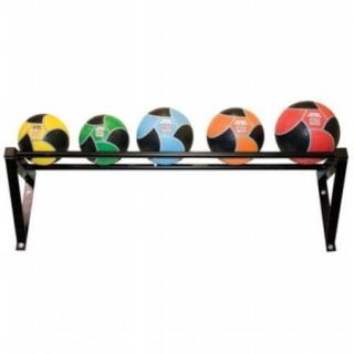 Power Systems 27187 Wall Mounted Med Ball Rack