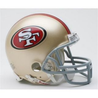Creative Sports RD SF49ers MR San Francisco 49ers Riddell Mini Football Helmet