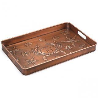 Good Directions 106VB Seashore Multi Purpose Shoe Tray in Copper