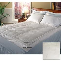Jacquard 400 Thread Count Pillow Top Featherbed   13061447