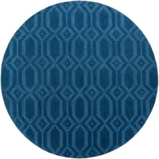 Artistic Weavers Metro Scout Electric Blue 6 ft. x 6 ft. Round Indoor Area Rug AWMP4015 6RD