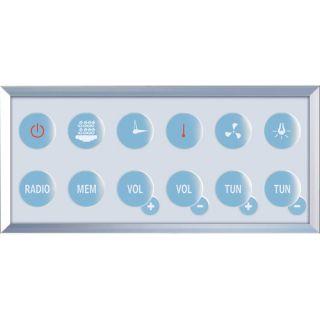Platinum 35.5 x 35.5 x 87.5 Neo Angle Door Steam Shower by Ariel