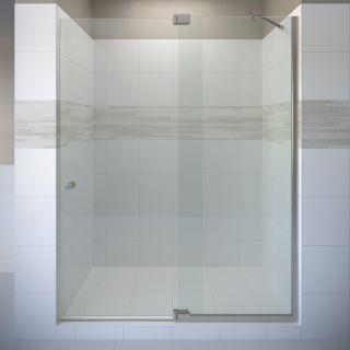 Basco Cantour 48.0125 in to 54 in Frameless Pivot Shower Door
