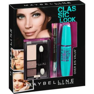 Maybelline Classic Look Eye Makeup Kit, 3 pc