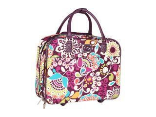 Vera Bradley Luggage Rolling Work Bag