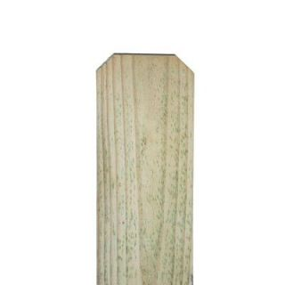 5/8 in. x 5 1/2 in. x 8 ft. Pressure Treated Pine Dog Ear Fence Picket 102582