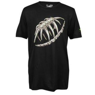 Under Armour Graphic Football T Shirt   Boys Grade School   Football   Clothing   Electric Blue/Black