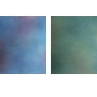 Botero 817 10x24 Muslin Double Sided Backgrounds, Blue, Magenta/Sea Green 18171