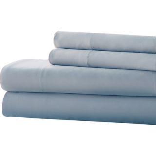Amrapur Overseas Inc. 4 Piece 220 Thread Count Bamboo Rich Sheet Set