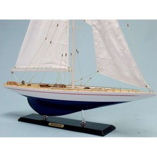 Enterprise 50 Wooden Limited Model Sailboat by Handcrafted Nautical
