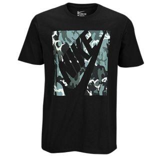 Nike Graphic T Shirt   Mens   Casual   Clothing   Black Reflective