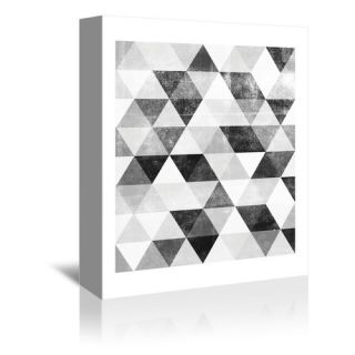 Polygon Gallery Wrapped Canvas Wall Art by Americanflat