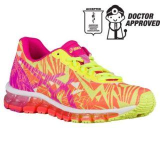 ASICS� GEL Quantum 360   Girls Grade School   Running   Shoes   Blue/Pink Glow/Mint